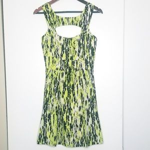 Guess Green & Black Dress